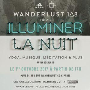 Billets Illuminer La Nuit - Yoga, Musique et Méditation - Wanderlust