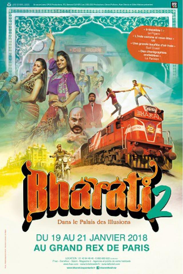 Bharati 2 : dans le palais des illusions @ Le Grand Rex - Paris