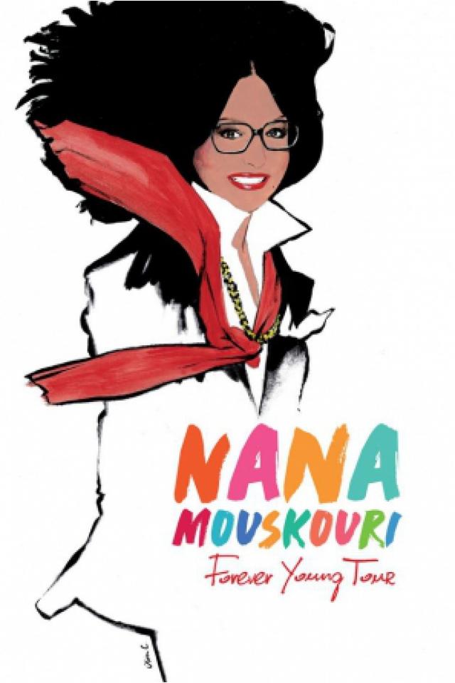 Concert NANA MOUSKOURI à Paris @ Salle Pleyel - Billets & Places