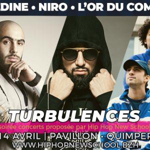 Turbulences : Médine • Niro • Sopico • L'or du commun • Di#se @ Parc des Expositions de Penvillers - Quimper