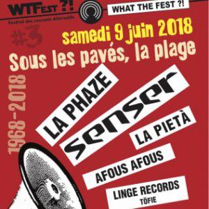 WHAT THE FEST?! #3 - SOUS LES PAVÉS, LA RAGE - SAMEDI 9 JUIN @ Espace de la Cadoule (Montpellier 34) - VENDARGUES