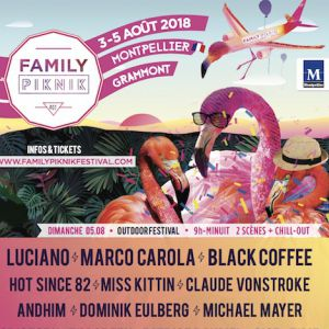 FAMILY PIKNIK 2018 @ Espace Rock Grammont - MONTPELLIER