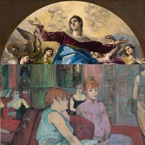 Greco / Lautrec - Billet Jumele