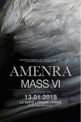 Concert AMENRA  à Paris @ La Gaîté Lyrique - Billets & Places