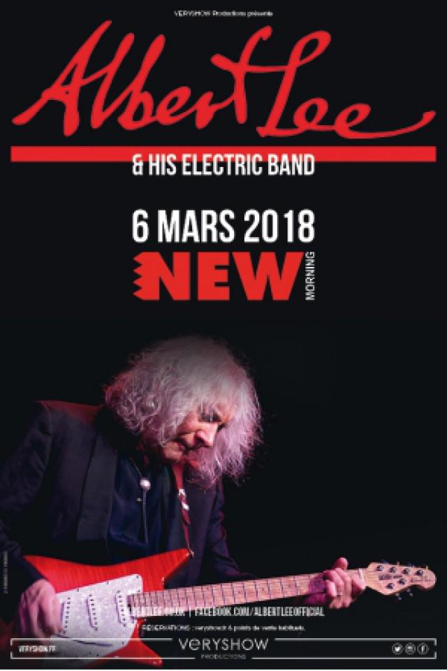 ALBERT LEE & his Electric Band @ New Morning - Paris