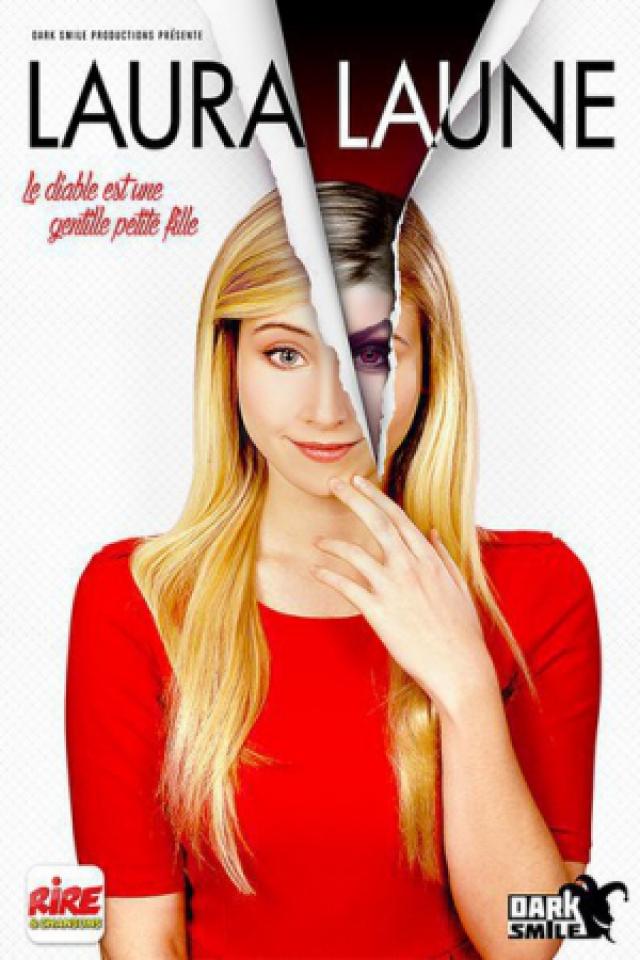 Laura Laune - Le diable est une gentille petite fille @ AUDITORIUM DU CASINO DES PALMIERS - HYERES