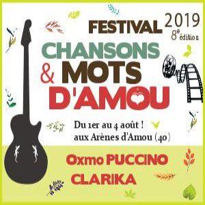 Festival Chansons & Mots D' Amou Pass Vendredi - Clarika