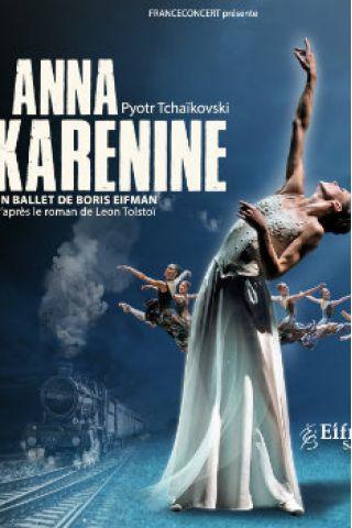 Billets ANNA KARENINE - AMPHITHEATRE CITE INTERNATIONALE