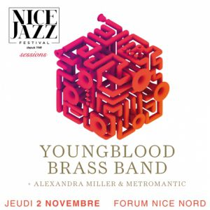 Youngblood Brass Band - Jeudi 2 Nov - Forum Nice Nord @ Forum Nice Nord - NICE