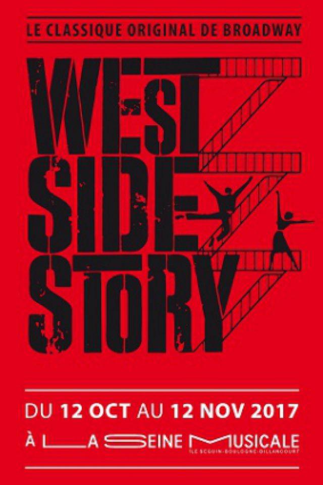 WEST SIDE STORY @ Grande Seine - La Seine Musicale - BOULOGNE BILLANCOURT