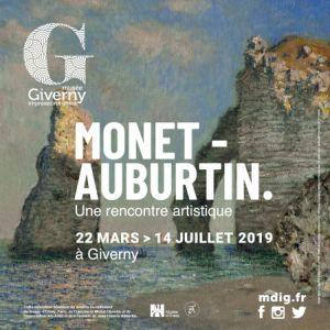 Exposition Monet-Auburtin. Une Rencontre Artistique