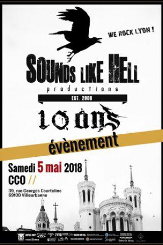 Concert SLH fête ses 10 ans ! avec BENIGHTED