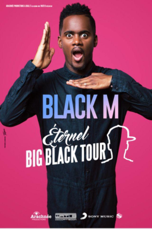 Concert BLACK M à L'ISLE D'ESPAGNAC @ Espace Carat - Parc Expo - Billets & Places