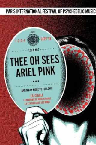 Concert PARIS PSYCH FEST 2018 - PASS 1 JOUR LUNDI @ La Machine du Moulin Rouge - Billets & Places
