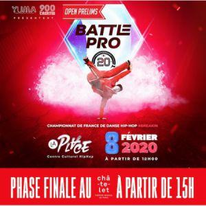 Battle Pro France - Open Prelims