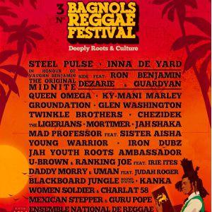 Bagnols Reggae Festival # 3 - Pass 4 Jours