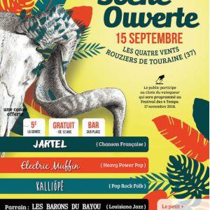 Festival des 4 Temps - Scène Ouverte @ Les Quatre Vents - Rouziers de Touraine