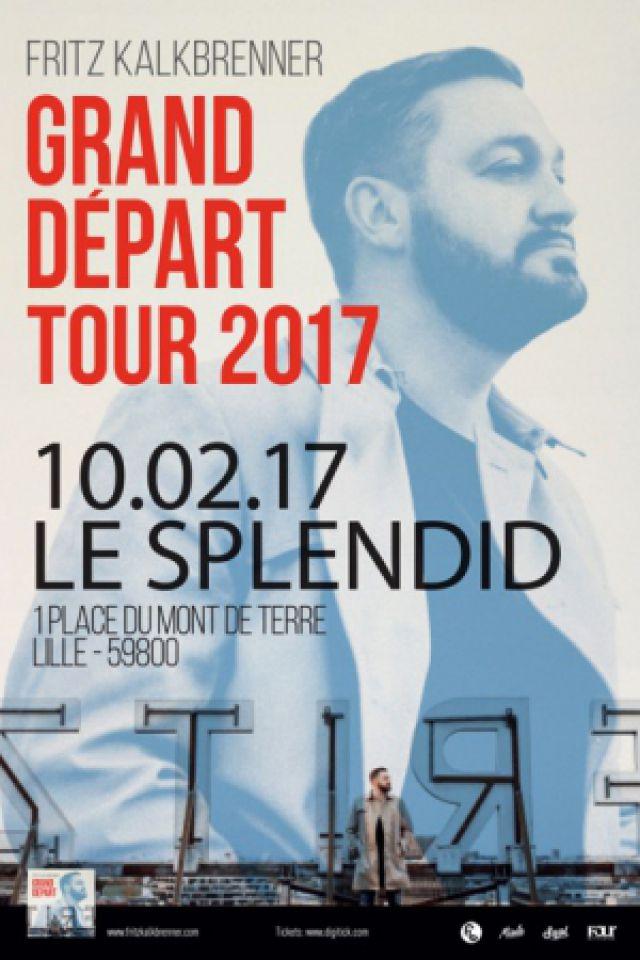 Concert FRITZ KALKBRENNER à Lille @ Le Splendid - Billets & Places