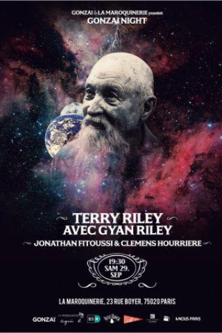 Concert GONZAI NIGHT : TERRY RILEY à PARIS @ La Maroquinerie - Billets & Places
