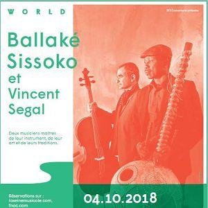 BALLAKE SISSOKO ET VINCENT SEGAL @ Auditorium - La Seine Musicale - BOULOGNE BILLANCOURT