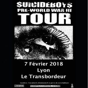 SUICIDEBOY$ @ TRANSBORDEUR - Villeurbanne