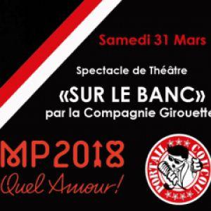 Spectacle SUR LE BANC @ Café-Musiques PORTAIL COUCOU - Salon de Provence