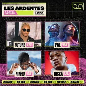 Les Ardentes 2021 - 4Day Pass