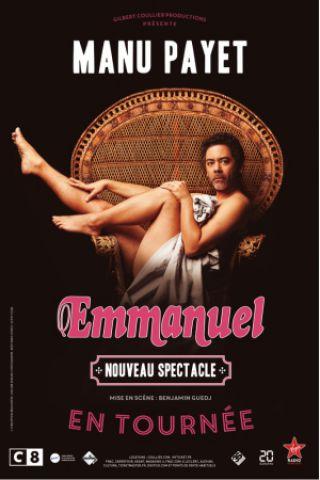 Spectacle Manu Payet à Bressuire @ BOCAPOLE - Espace Europe - Billets & Places