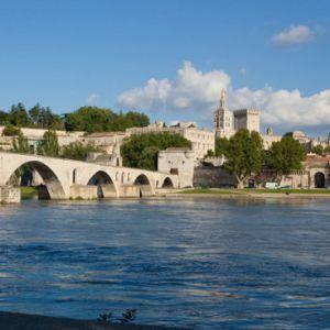 Palais des Papes + Pont St Bénezet @ Palais des papes - AVIGNON