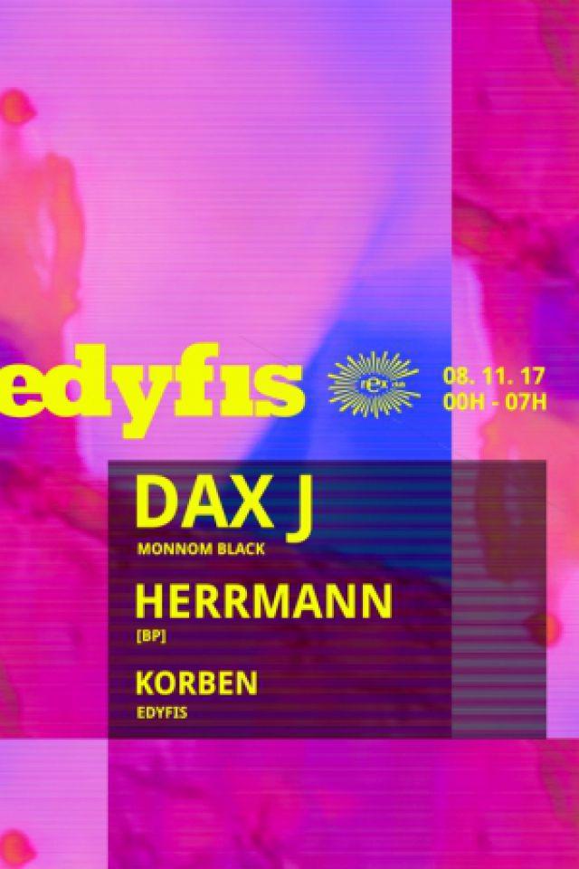 EDYFIS VOL.3 @ Le Rex Club - PARIS