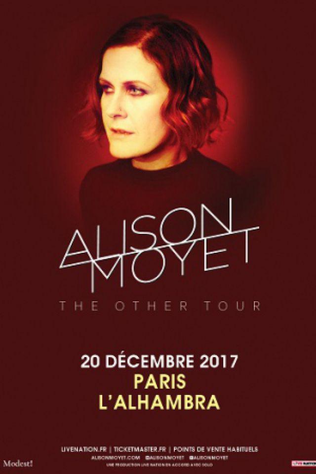 ALISON MOYET @ Alhambra - Paris