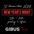 Soirée GIBUS NEW YEAR'S EVE 2019 à PARIS @ Gibus Club - Billets & Places
