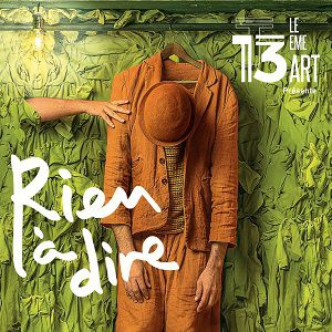 RIEN A DIRE @ THÉÂTRE LE 13ÈME ART - PARIS