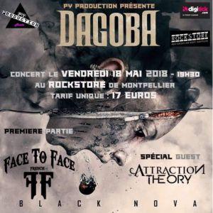 Concert Dagoba à Montpellier @ Le Rockstore - Billets & Places