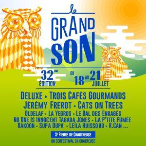Festival Le Grand Son 2019 - Pass 2 Jours Au Choix