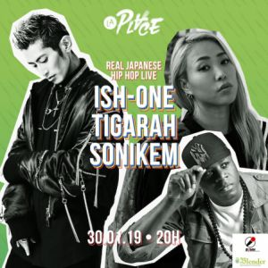 Real Japanese Hiphop Live W/ Ish-One, Tigarah Et Sonikem