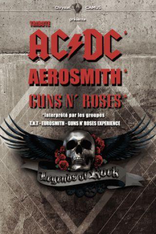 Billets LEGENDS OF ROCK (TRIBUTE AC/DC, Aerosmith, GUNS N'ROSES) - ZENITH TOULOUSE METROPOLE