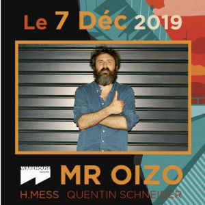 After Block Party W. Mr Oizo - Warehouse Nantes