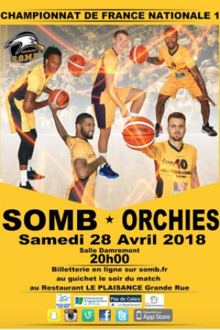 Match SOMB - ORCHIES
