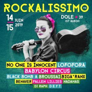 Festival Rockalissimo 2019 - Pass 2 Jours