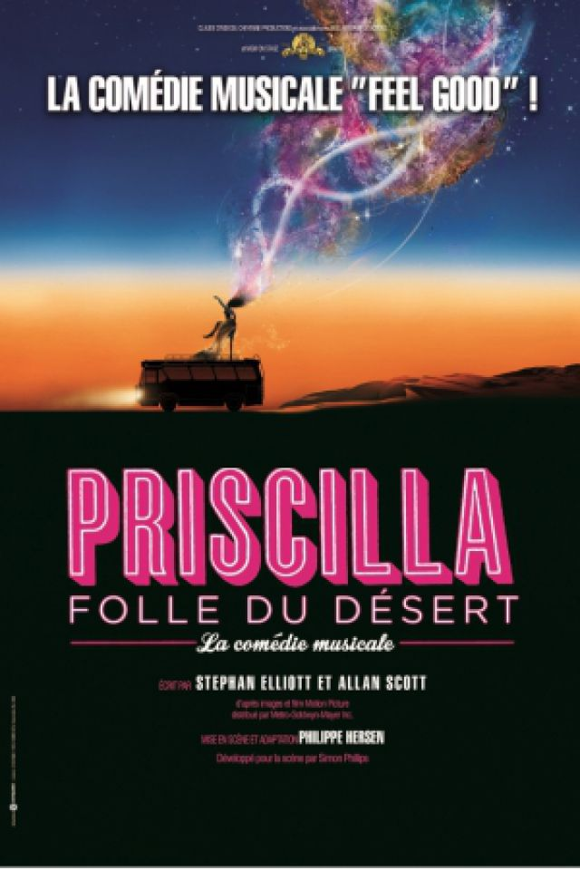 Spectacle PRISCILLA  FOLLE DU DESERT  à Dijon @ Zénith de Dijon - Billets & Places