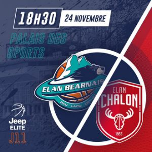 ELAN BEARNAIS / CHALON SUR SAÔNE @ Palais des Sports de Pau - PAU