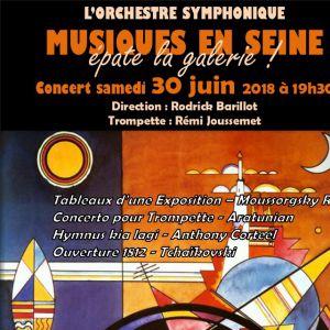 Musiques en Seine épate la Galerie ! @ Château Royal de Montceaux les Meaux - MONTCEAUX LÈS MEAUX