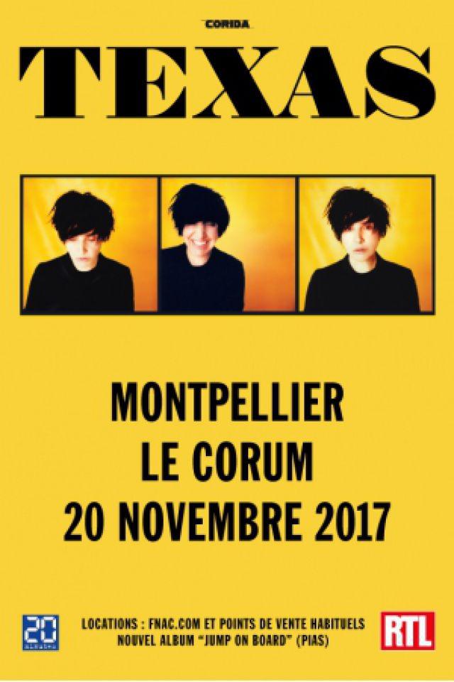TEXAS + 1ère Partie @ Le Corum - Salle Berlioz - MONTPELLIER