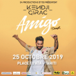 Concert KENDJI GIRAC à Papeete @ PLACE TO'ATA - Billets & Places