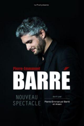 Spectacle PIERRE-EMMANUEL BARRE à MARSEILLE @ LE SILO - Billets & Places