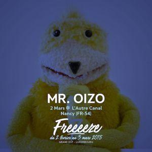 FESTIVAL FREEEEZE > MR.OIZO + MAZE + BASSTONE + ROBUSTE  @ L'AUTRE CANAL - Nancy