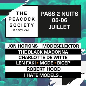 The Peacock Society Festival 2019 - Pass 2 Nuits