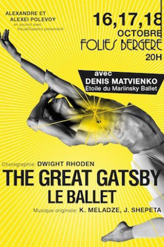 THE GREAT GATSBY - LE BALLET @ Théâtre des Folies Bergère - Paris