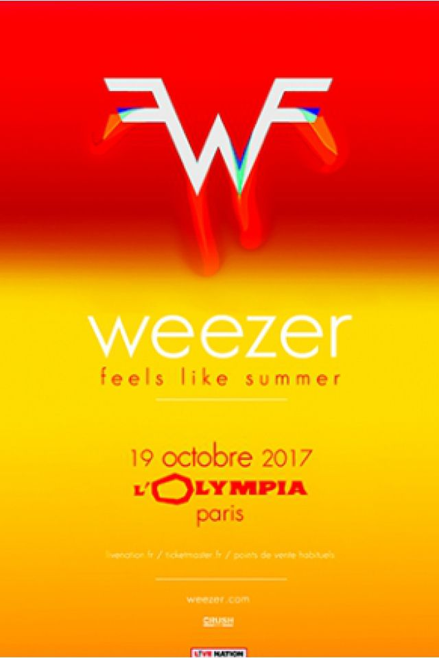 WEEZER @ L'Olympia - Paris